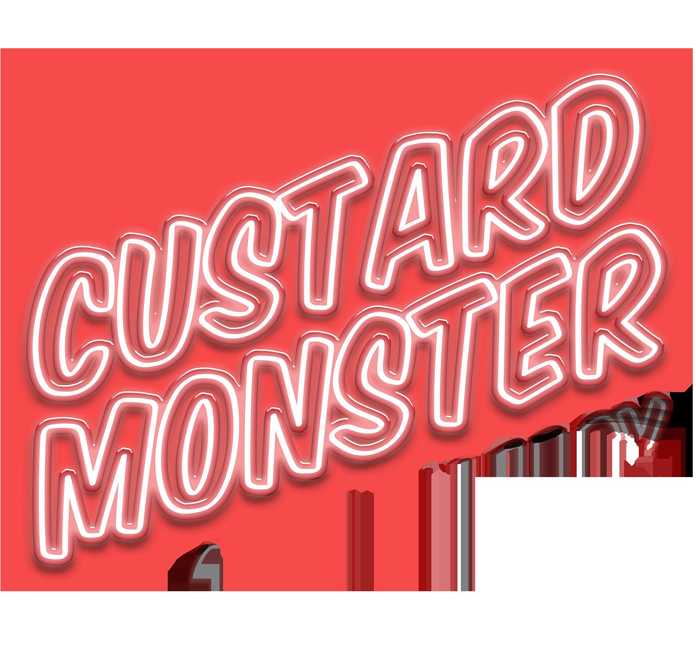 CUSTARD MONSTER VANILLA 100ML