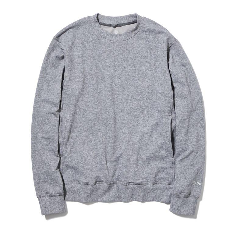 C3fit(シースリーフィット)/リポーズ スウェットシャツ/グレー/MENS