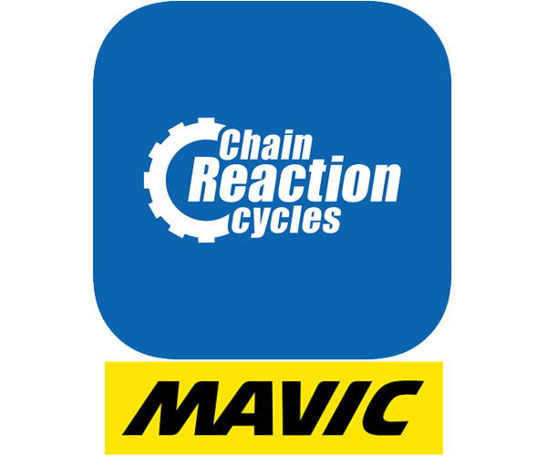 Chain Reaction Cycles and Mavic logos