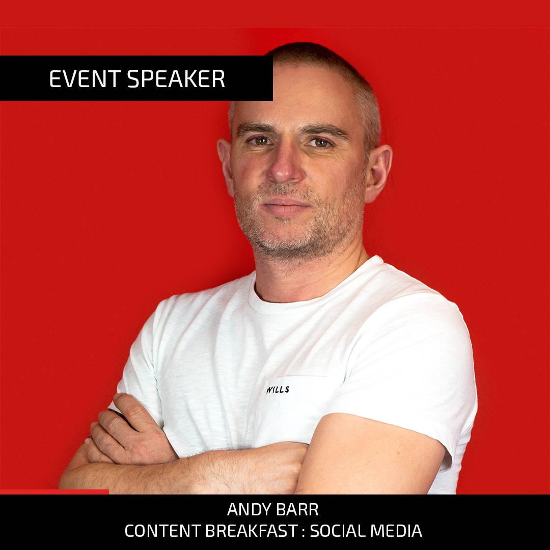 Andy Barr, Speaker