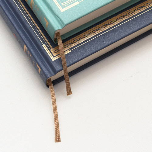 Golden ribbon bookmark - Indigo Classic the little prince undated daily diary journal