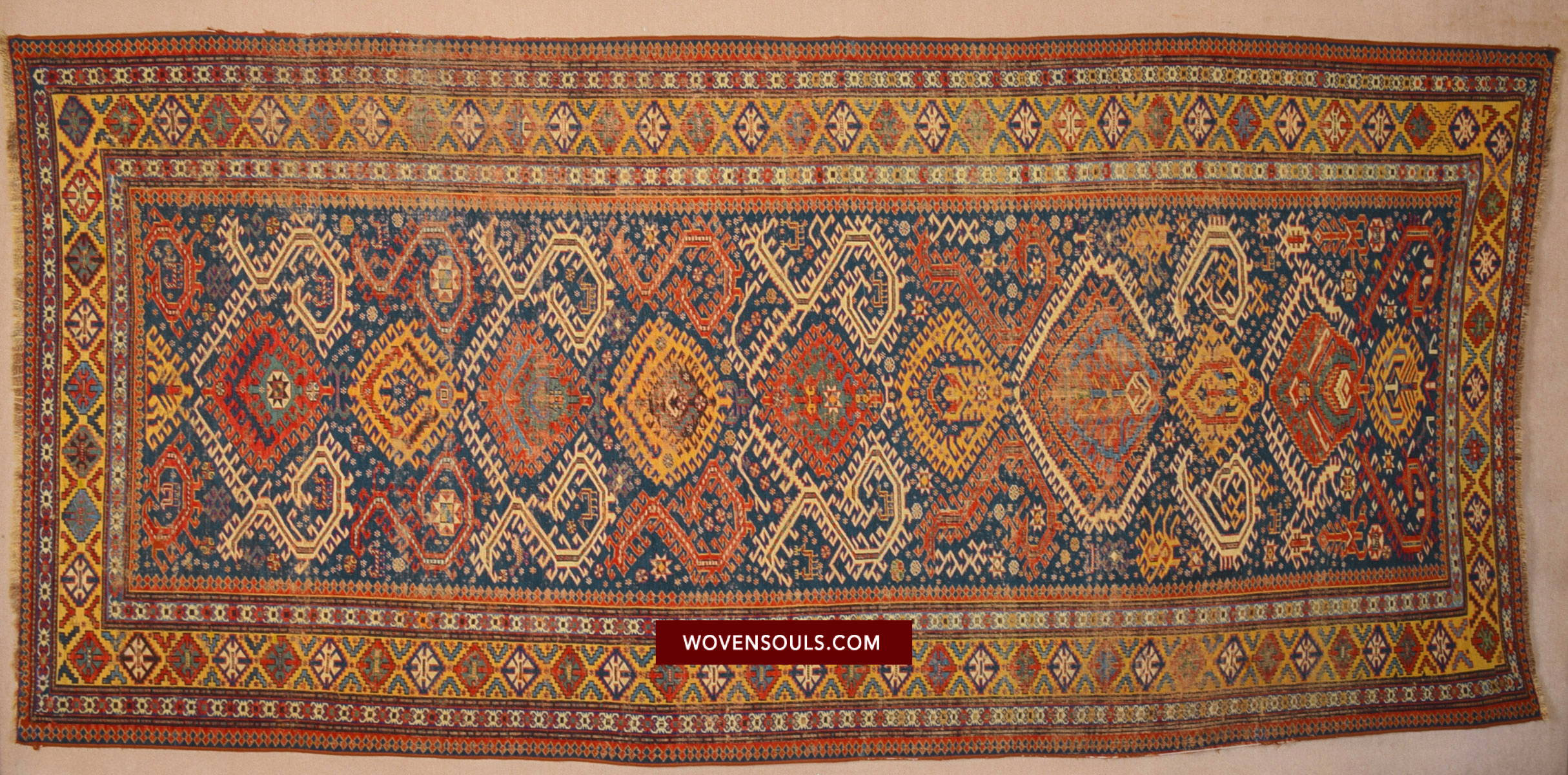 ANTIQUE DRAGON SUMAC SOUMAC RUG CARPET