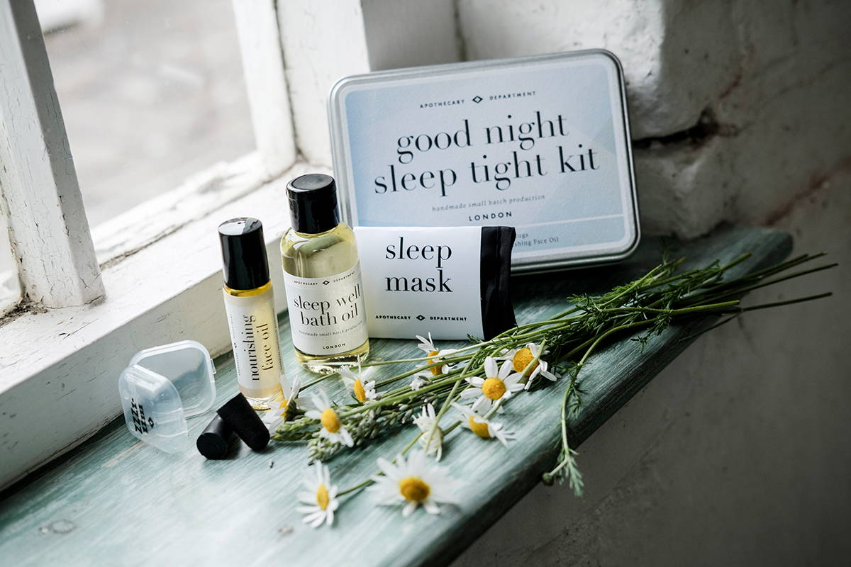 B&B in-room amenities | good night sleep tight kit