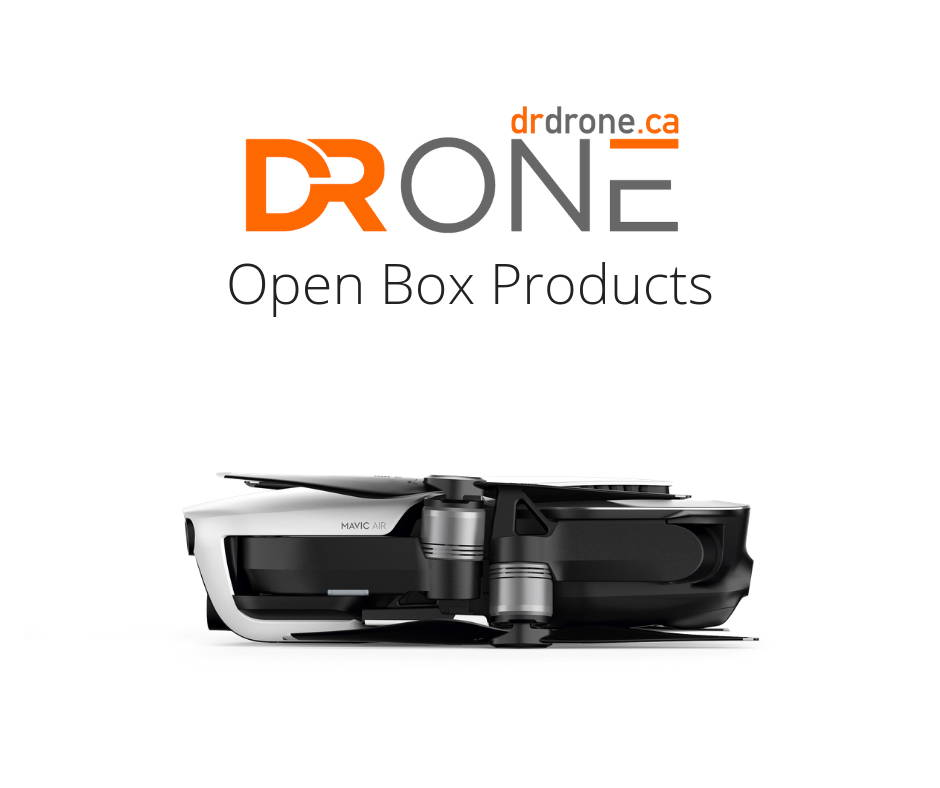 dr drone open box