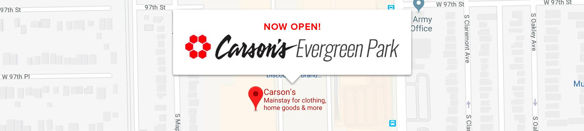picture relating to Carsons in Store Coupons Printable named Carsons Evergreen Park