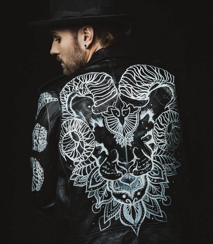 Custom jacket design Lucas Meijer