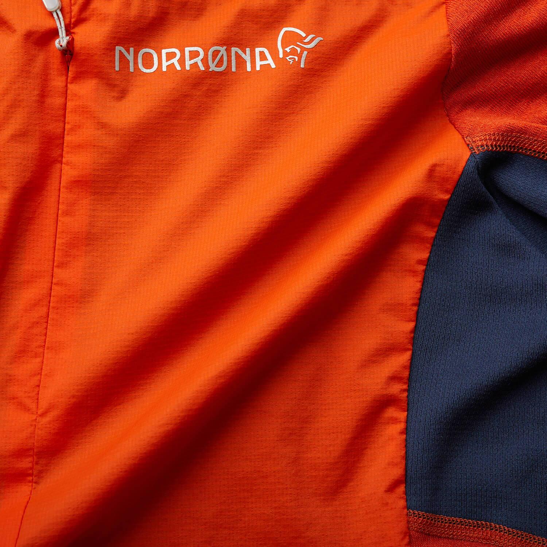 NORRONA(ノローナ)/ビティホーン アルファフーディシャツ/オレンジ/MENS