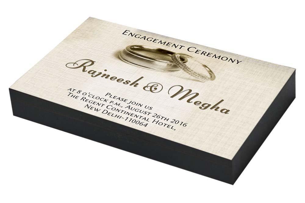 Classic Engagement Invitation