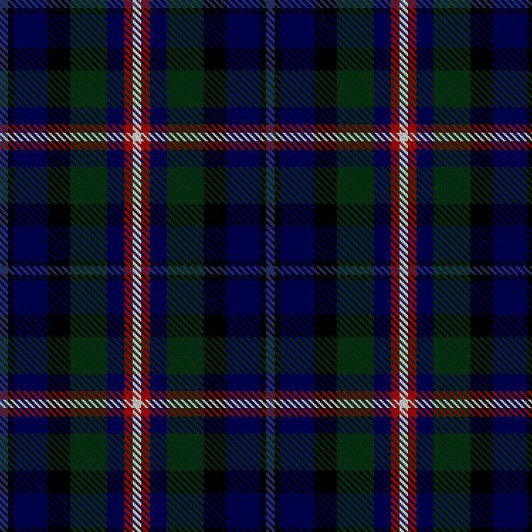 Lodge Rosslyn of Switzerland tartan