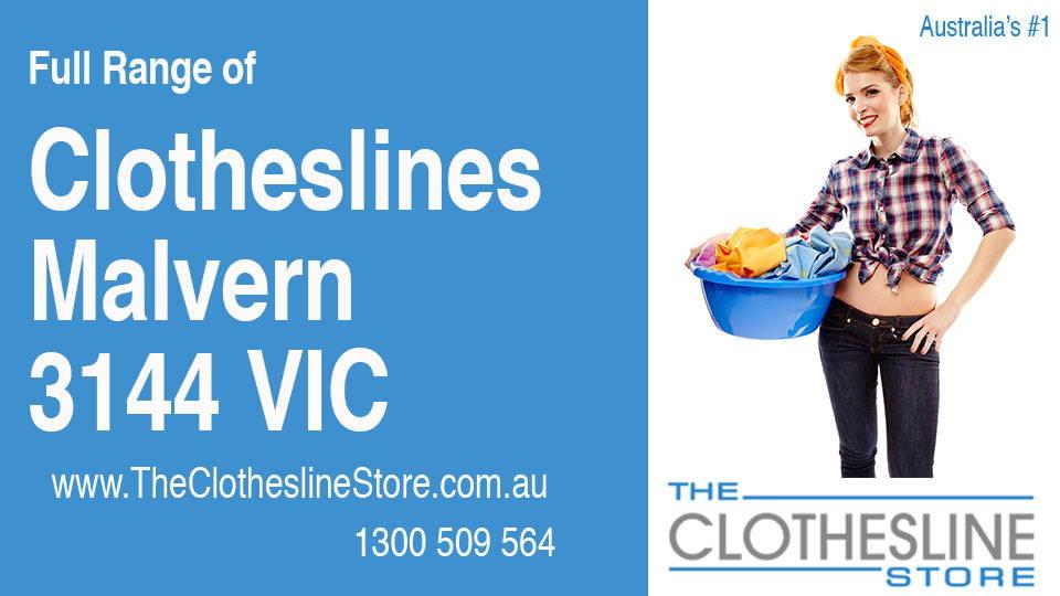 New Clotheslines in Malvern Victoria 3144