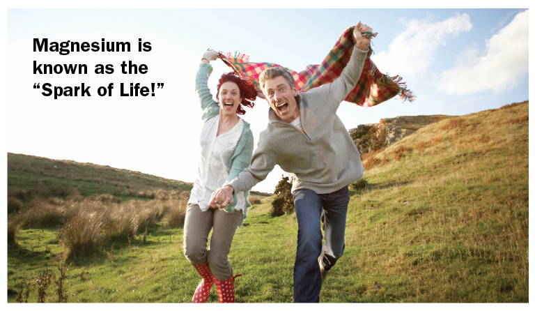 """Magnesium is known as the """"Spark of Life!"""""""