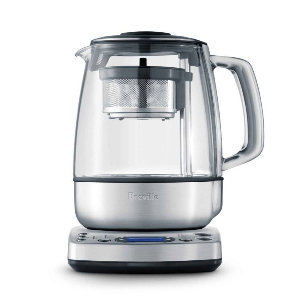 Breville One-Touch Tea Maker with automated basket, glass window and temperature control