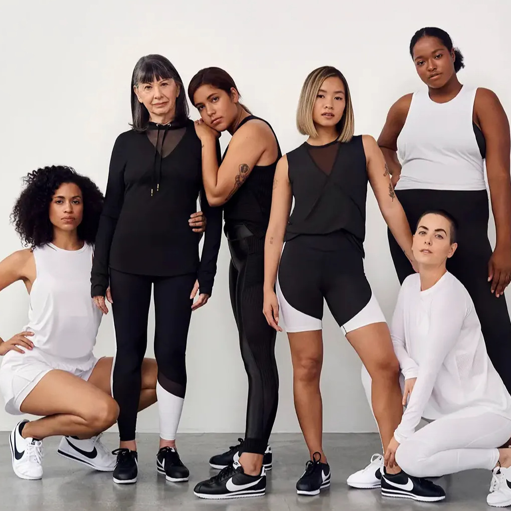Group shot of six women from our Superbody campaign.