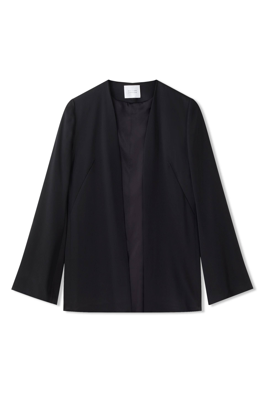 Galvan London Satin Black slip jacket