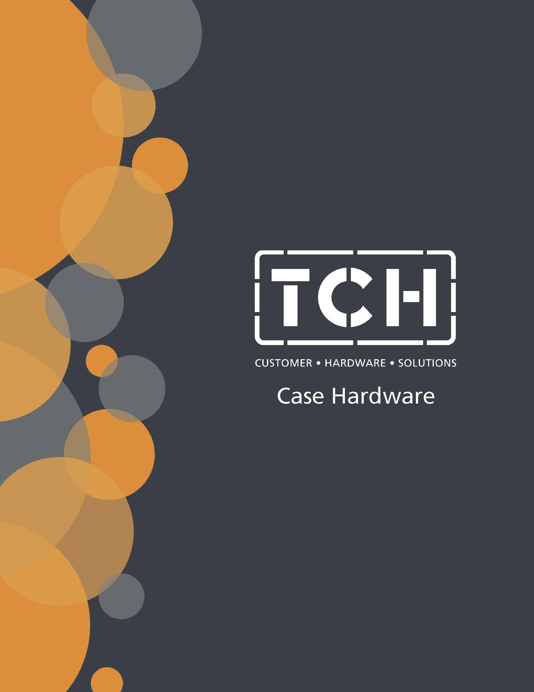 Cover of TCH's Case Hardware line card