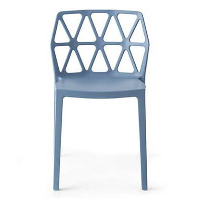 Modern Blue Outdoor Dining Chairs
