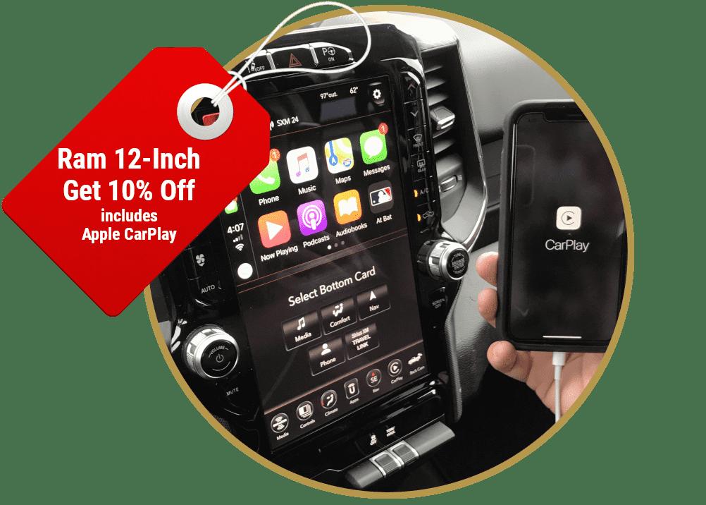 Factory Ram 12-Inch Touchscreen Radio Upgdrades
