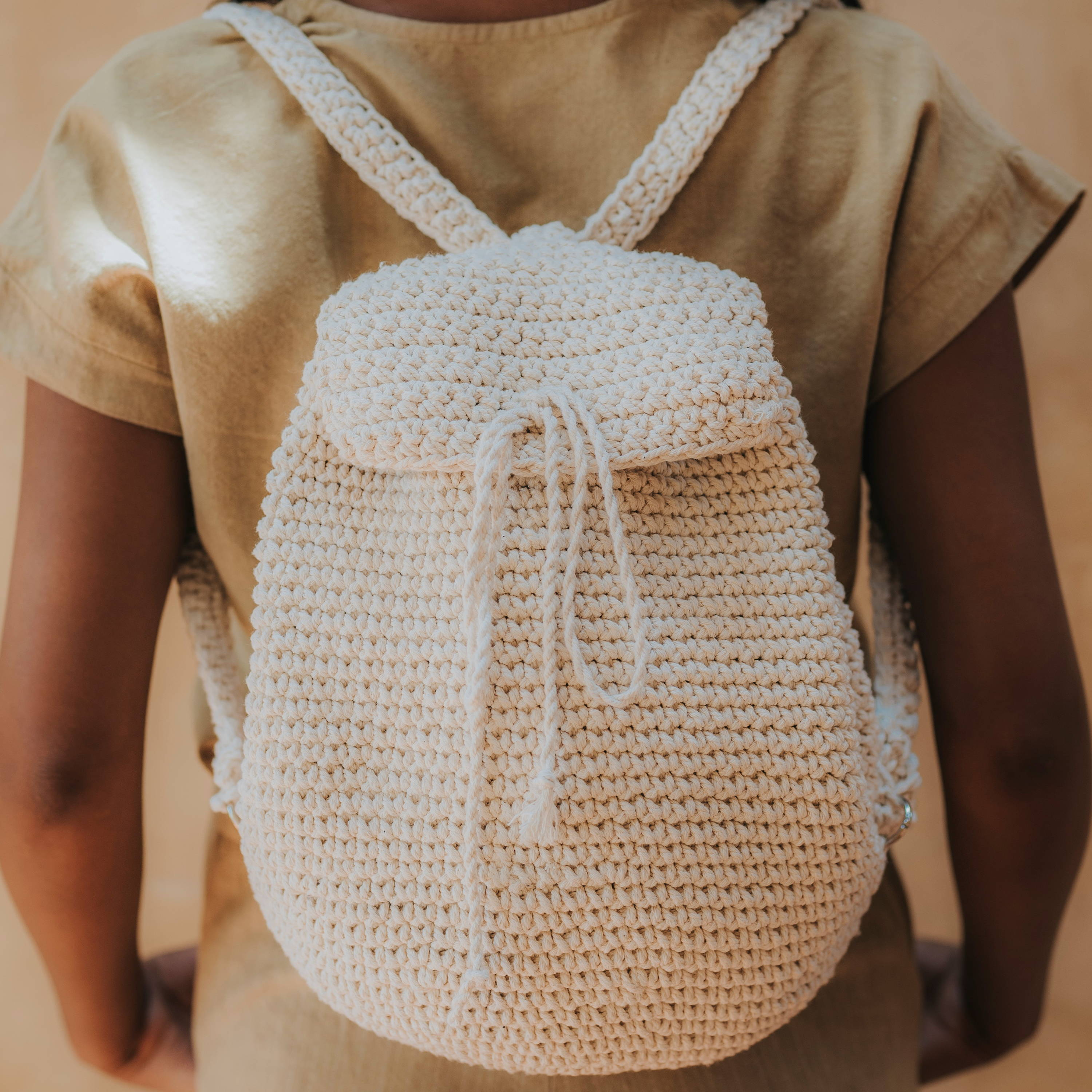 Breeze Backpack in White