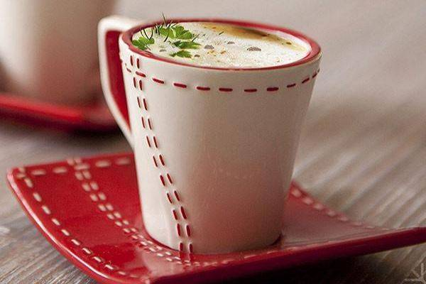 cappuccino de homard la boite du chef