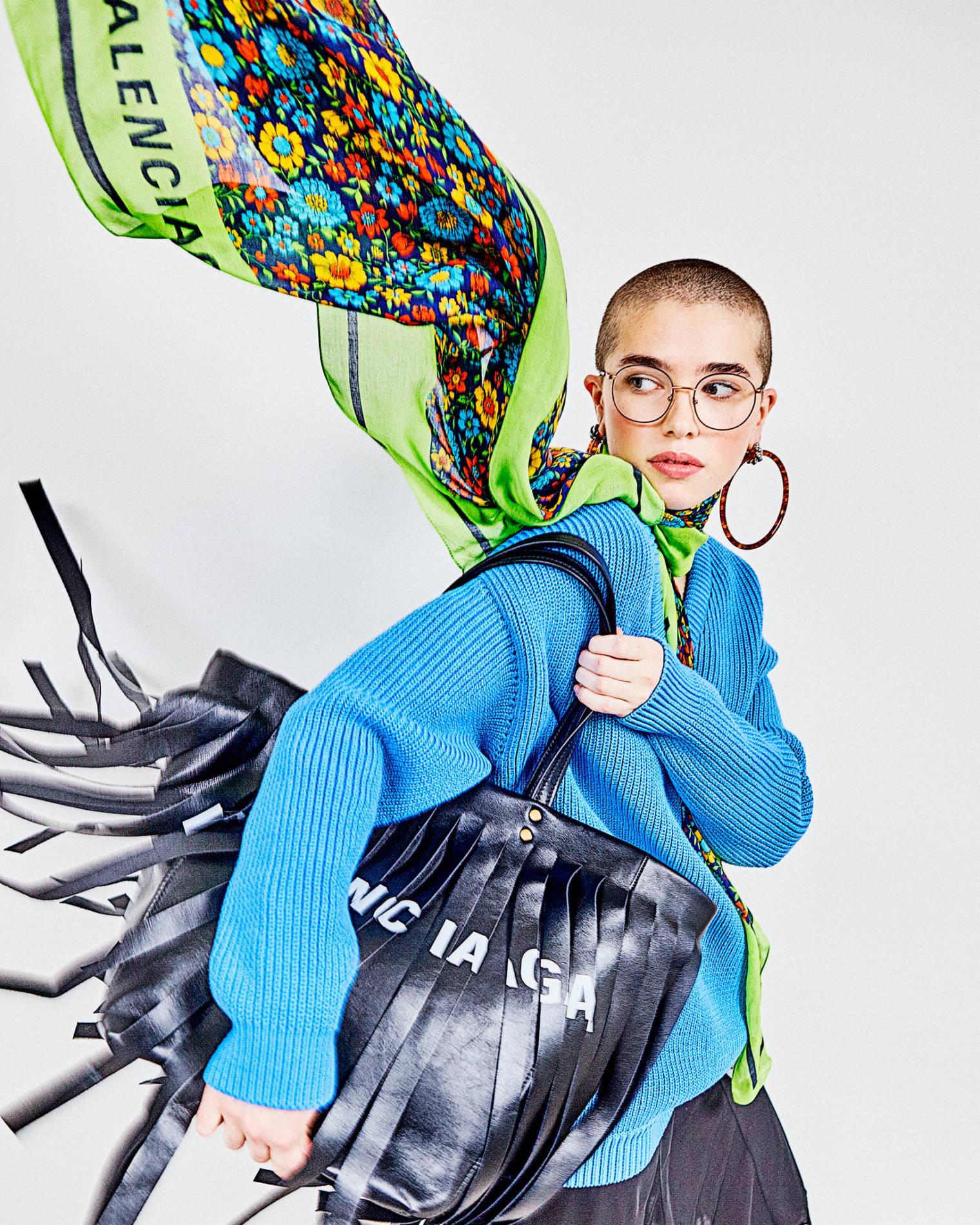 Balenciaga Fringe Bag