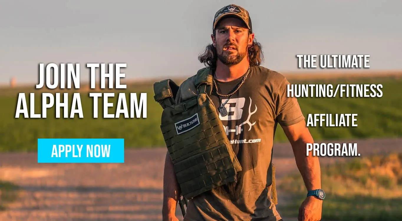built4thehunt alpha team athlete