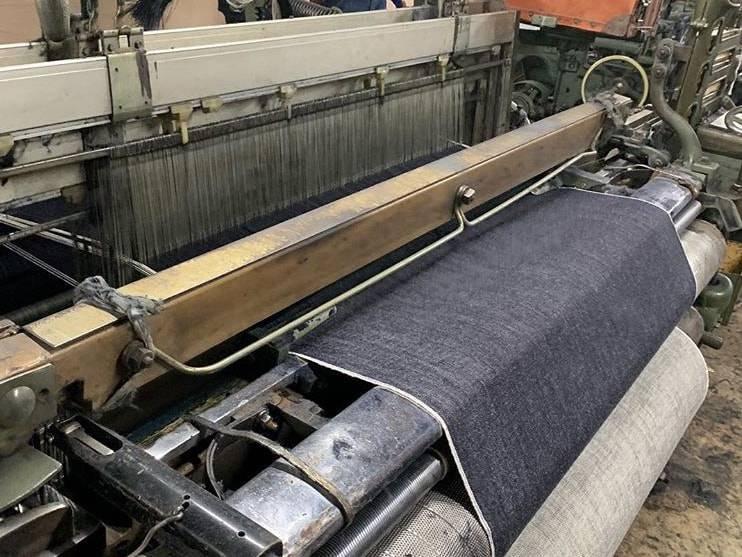 vintage toyoda g3 shuttle loom denim