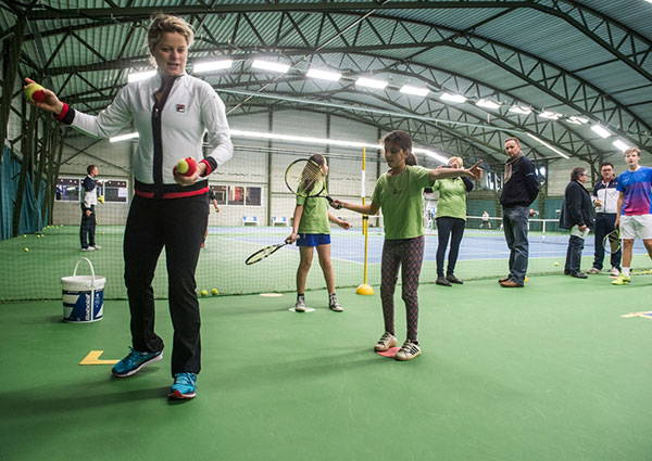 The Kim Clijsters Tennis Academy