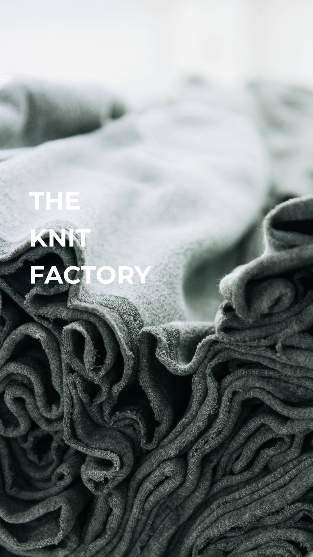 source knit factory in china