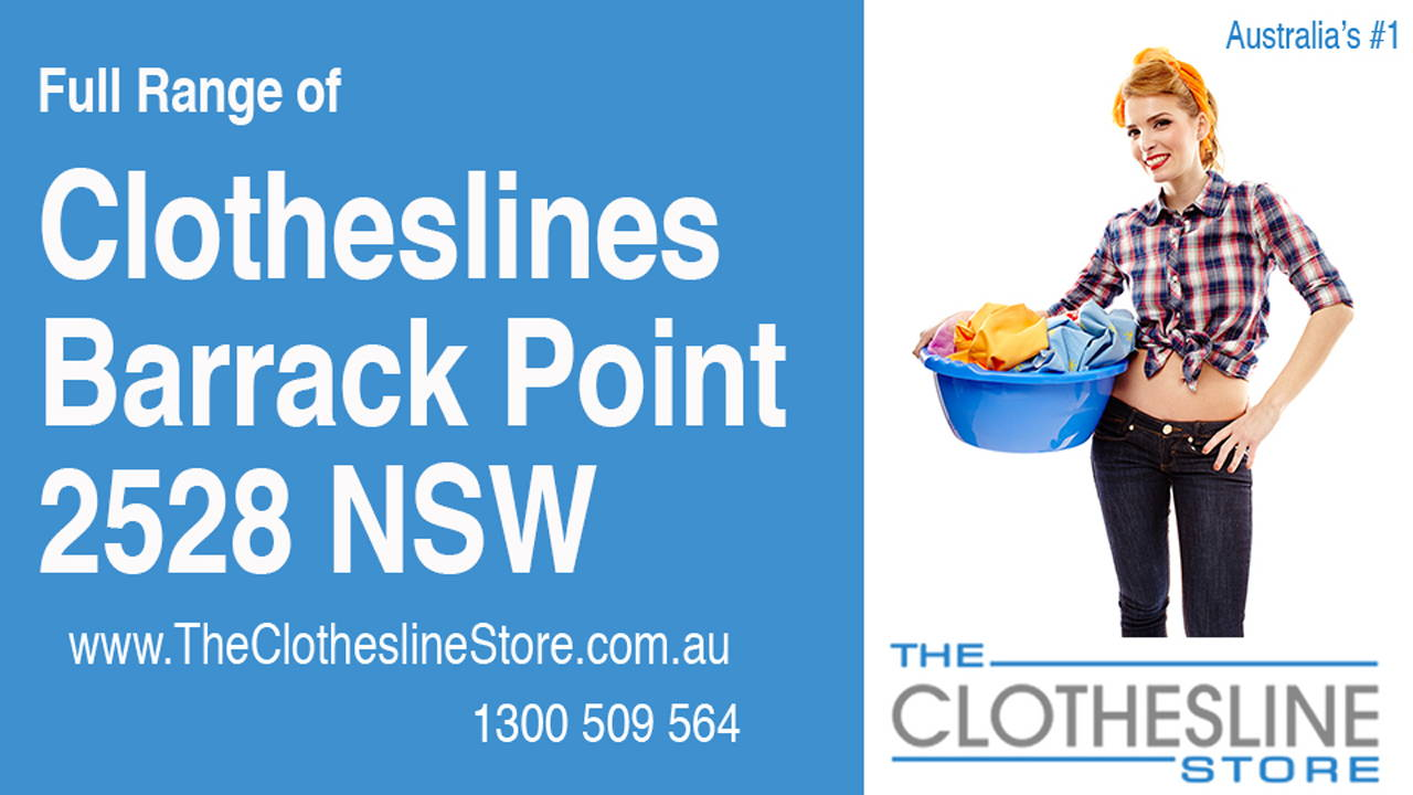 New Clotheslines in Barrack Point 2528 NSW