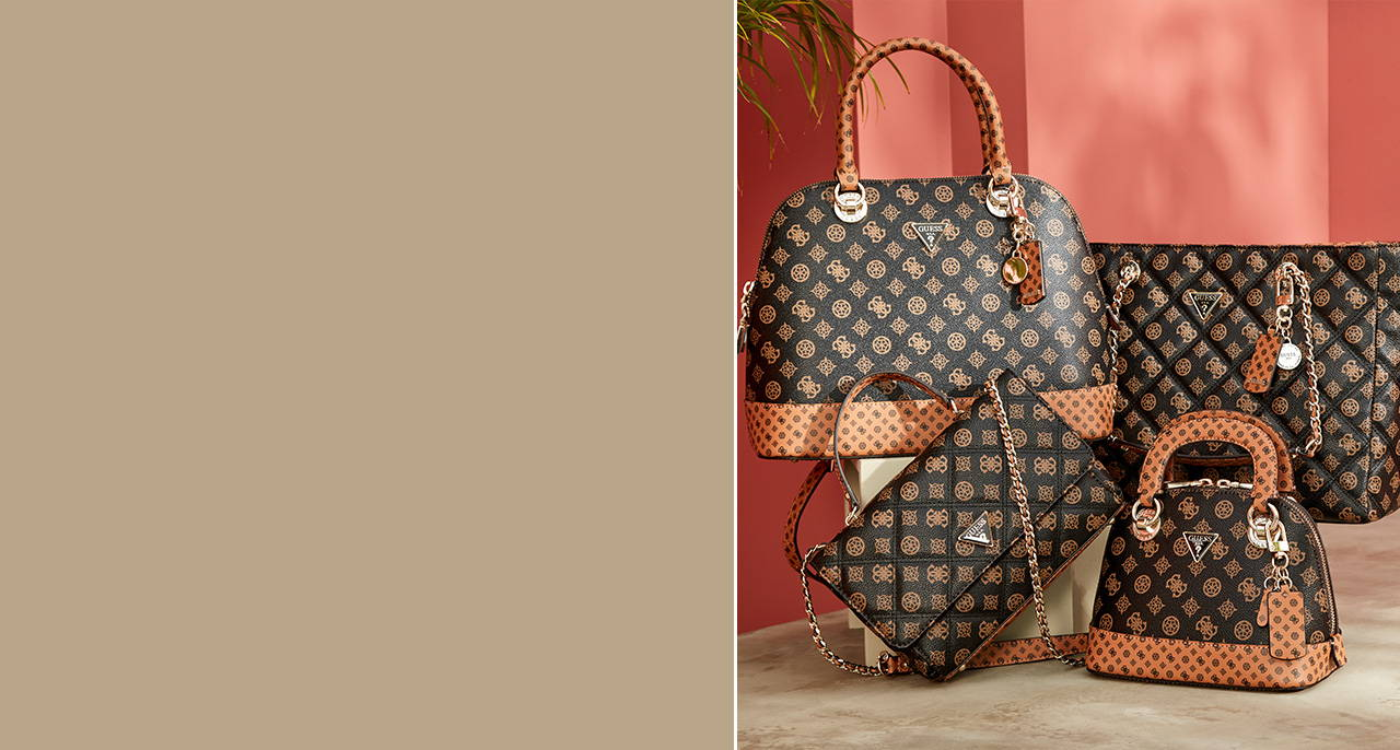 Guess new handbags and wallets for women