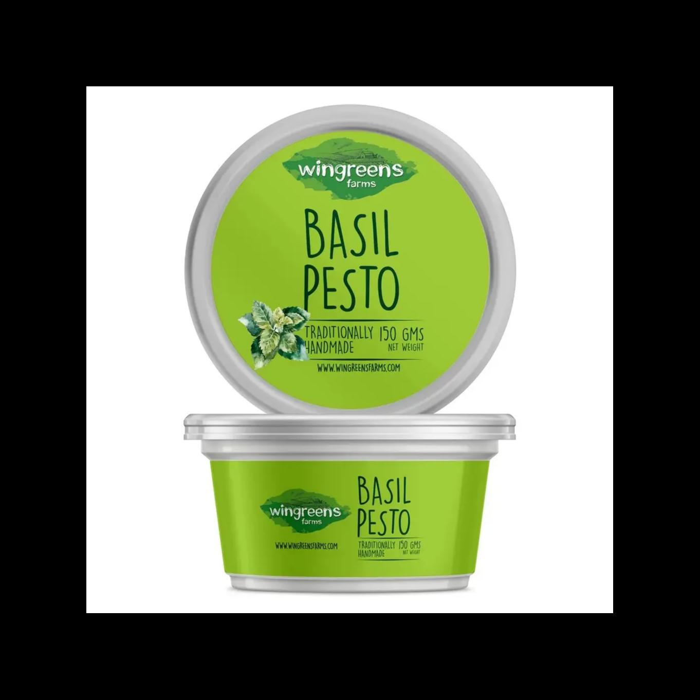 Healthy Snacks - Basil Pesto