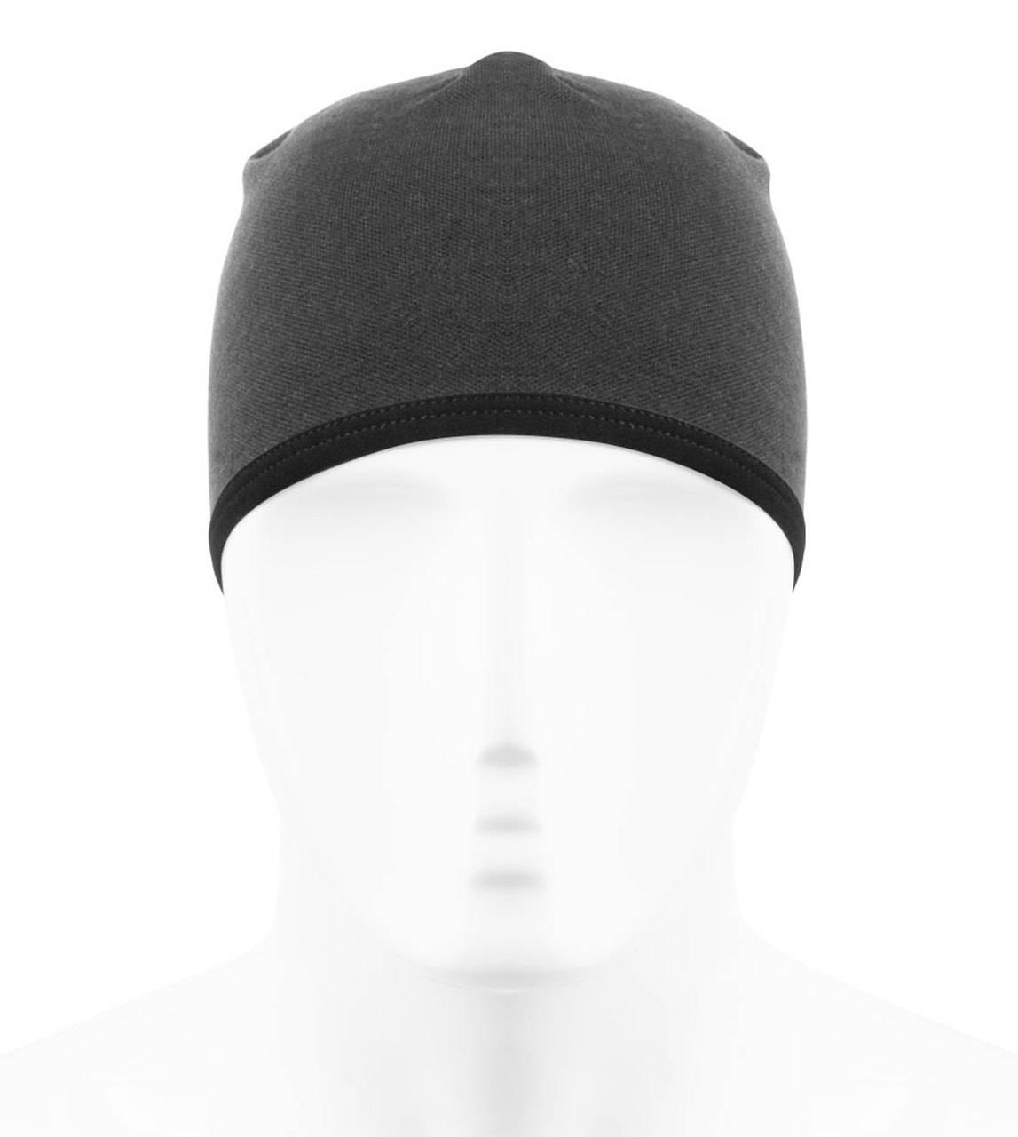 merino wool skull cap front view