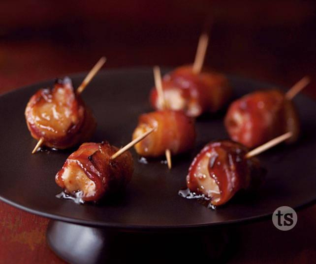 honey teriyaki chicken bacon bites