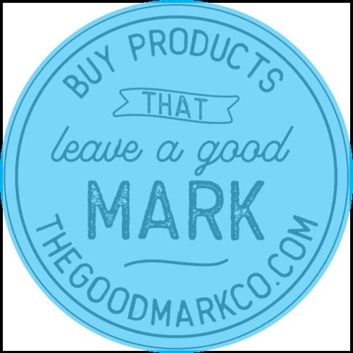 The Good Mark Co. Logo - Blue