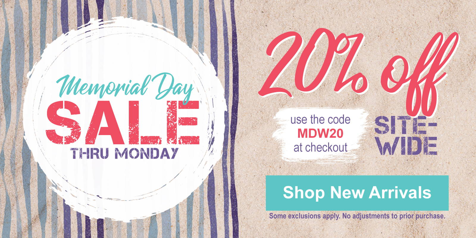 Memorial Day Sale is ON
