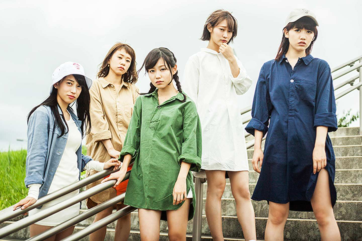 lyrical school Japanese idol group rap