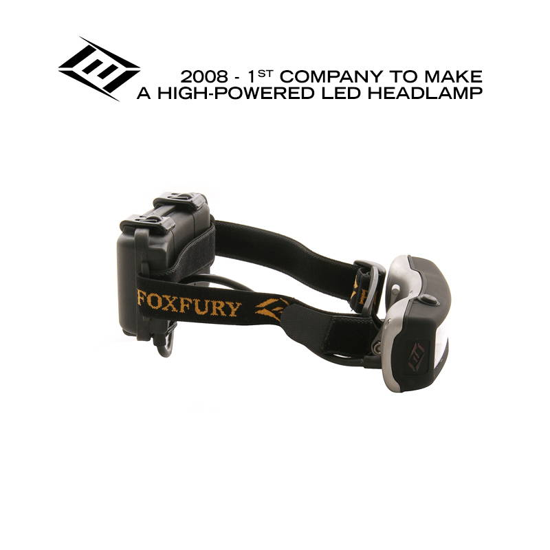 FoxFury makes high-powered LED headlamp
