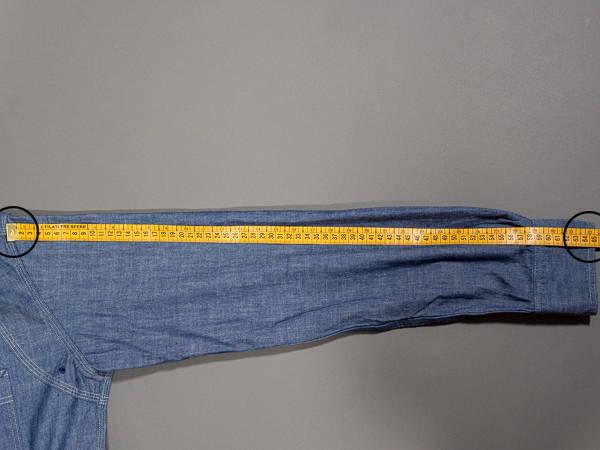 how to measure a shirt sleeve