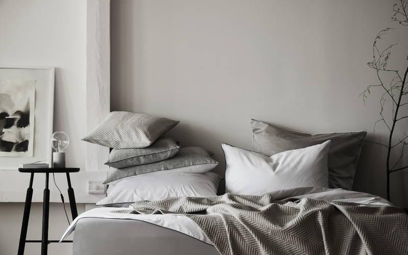 Wohntrend grau in grau monochrome