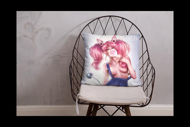 Kinky Karrot Throw Pillows