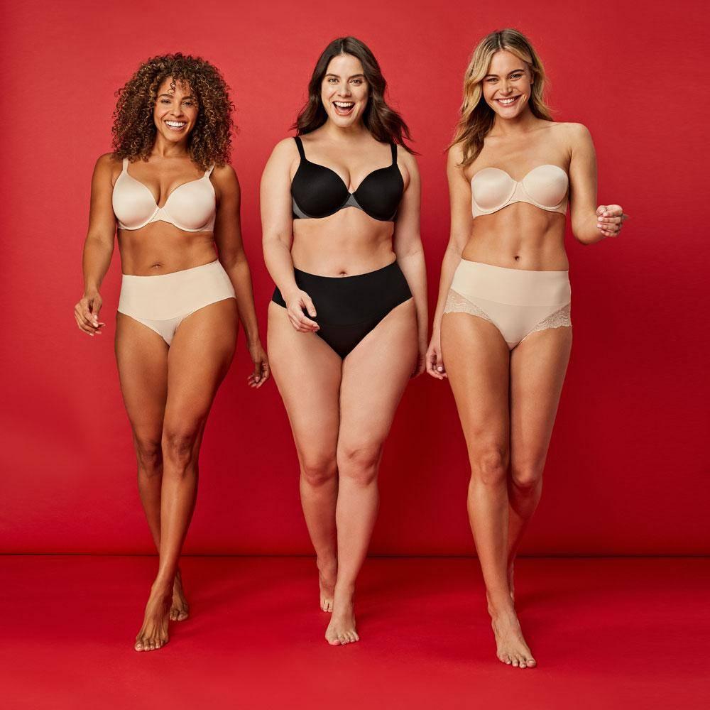 Spanx Shapewear Kampagne figurformend Mieder