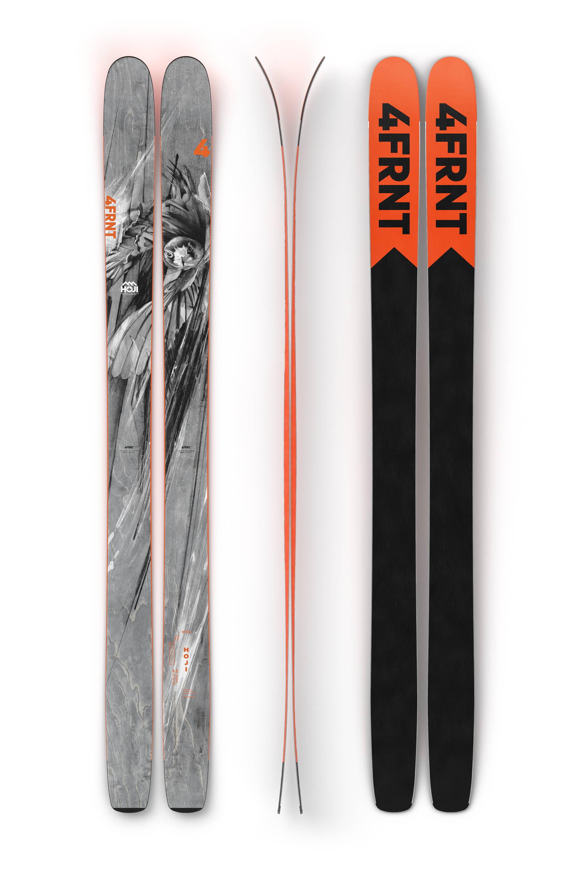 Raven skis