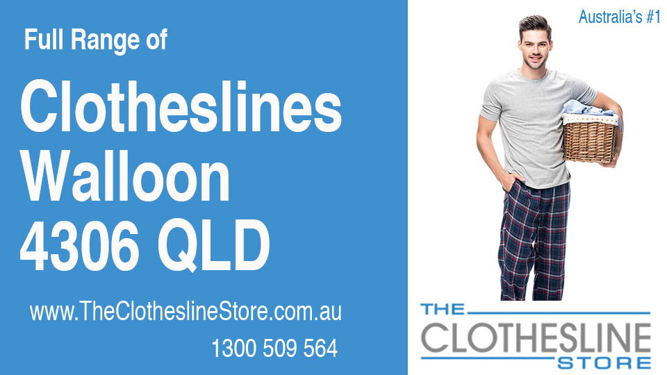 New Clotheslines in Walloon Queensland 4306