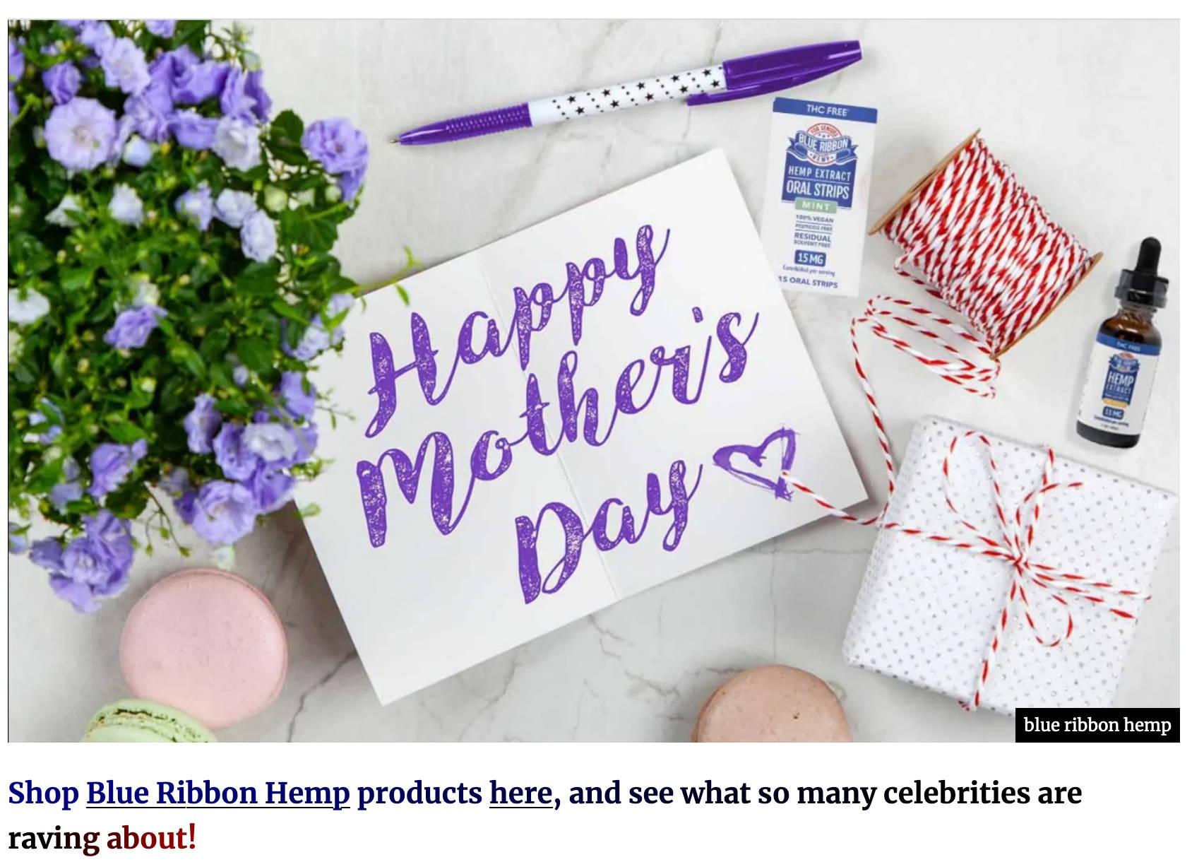 Happy Mother's Day CBD gift