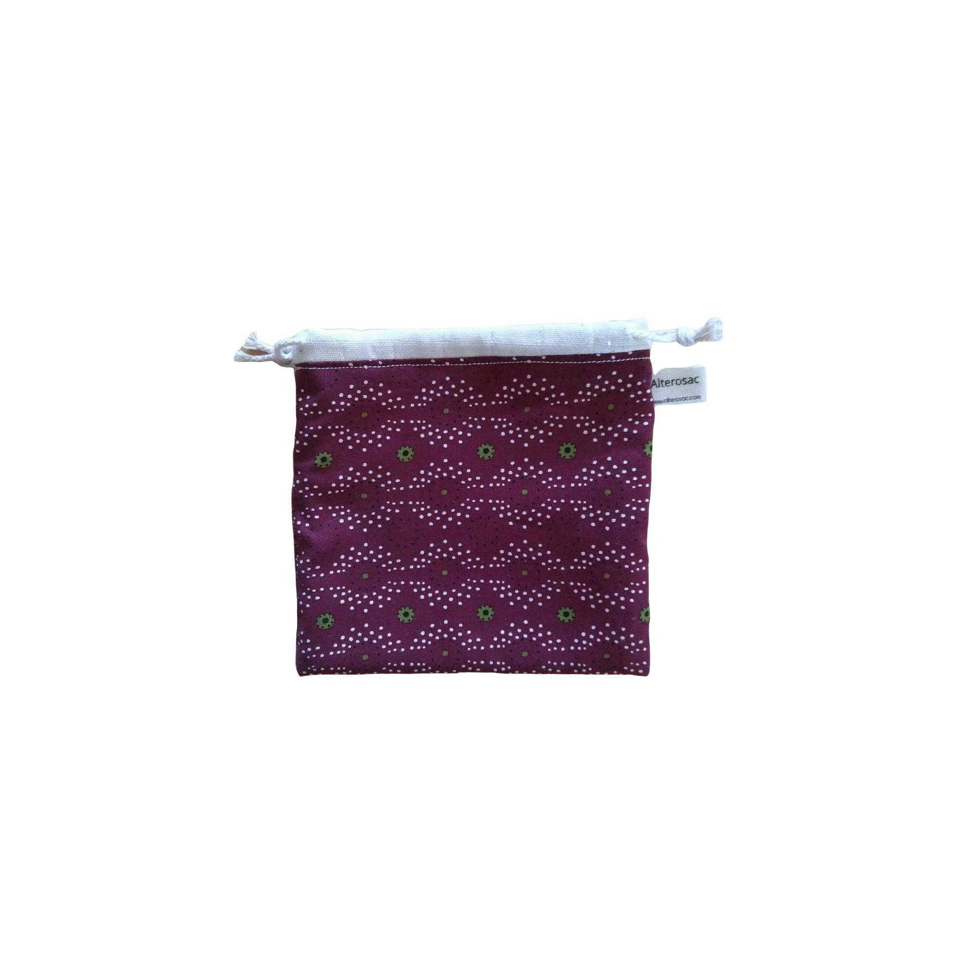Pochette pour serviette hygiénique lavable