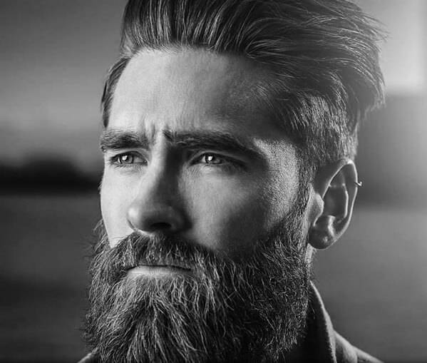 beard oil helps keep your face cooler in the summer