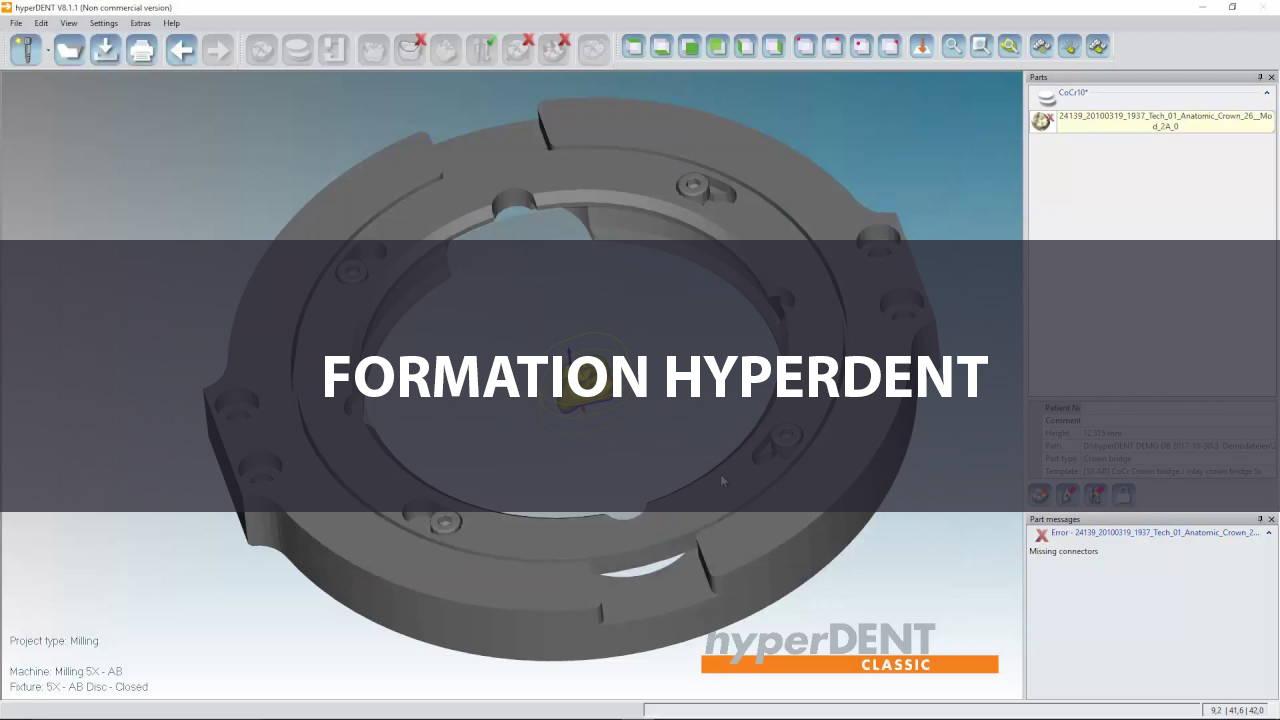 Formation logiciel FAO hyperDENT