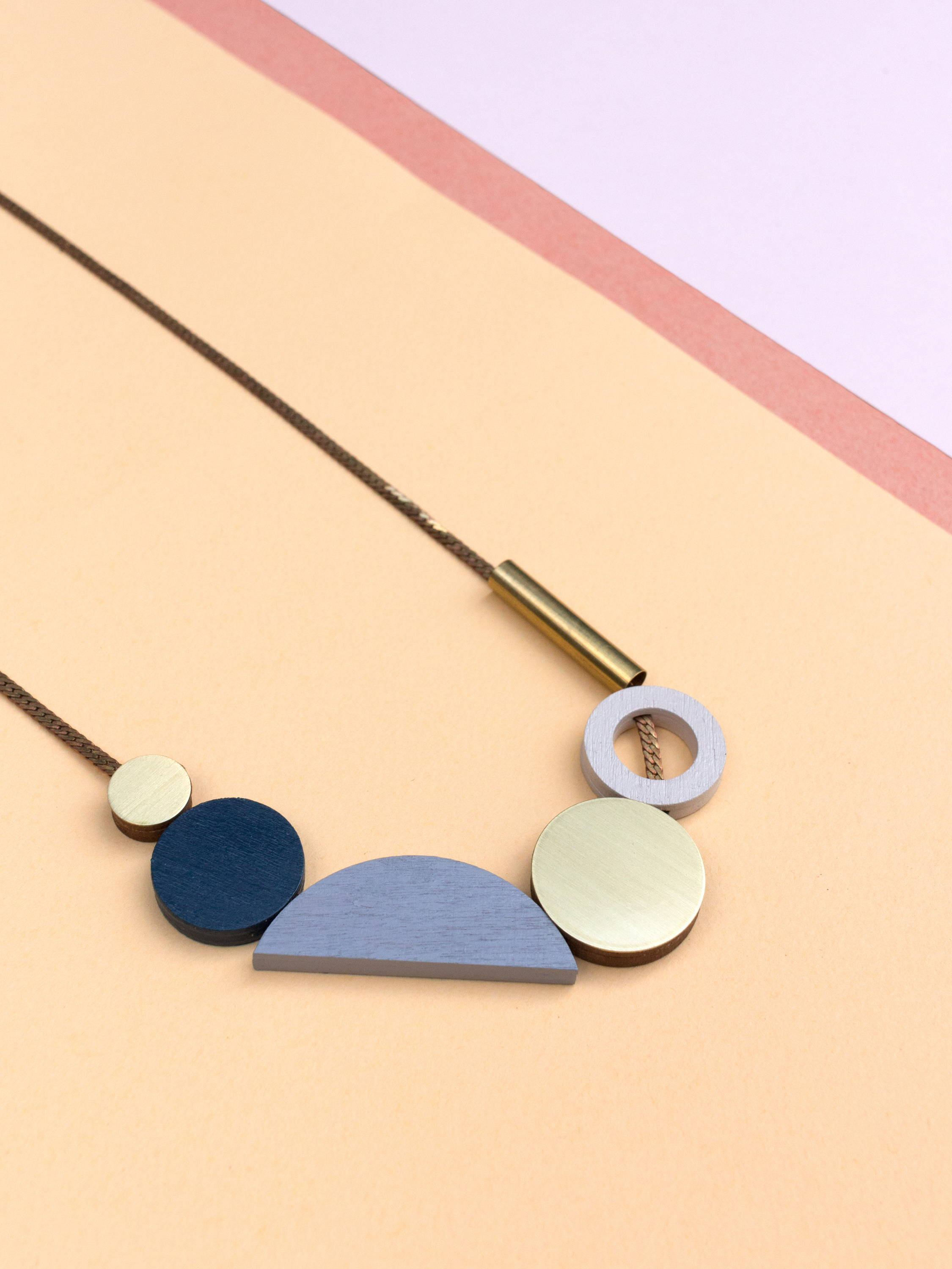 Wolf & Moon | Composition II Necklace | Original statement jewellery handmade in London