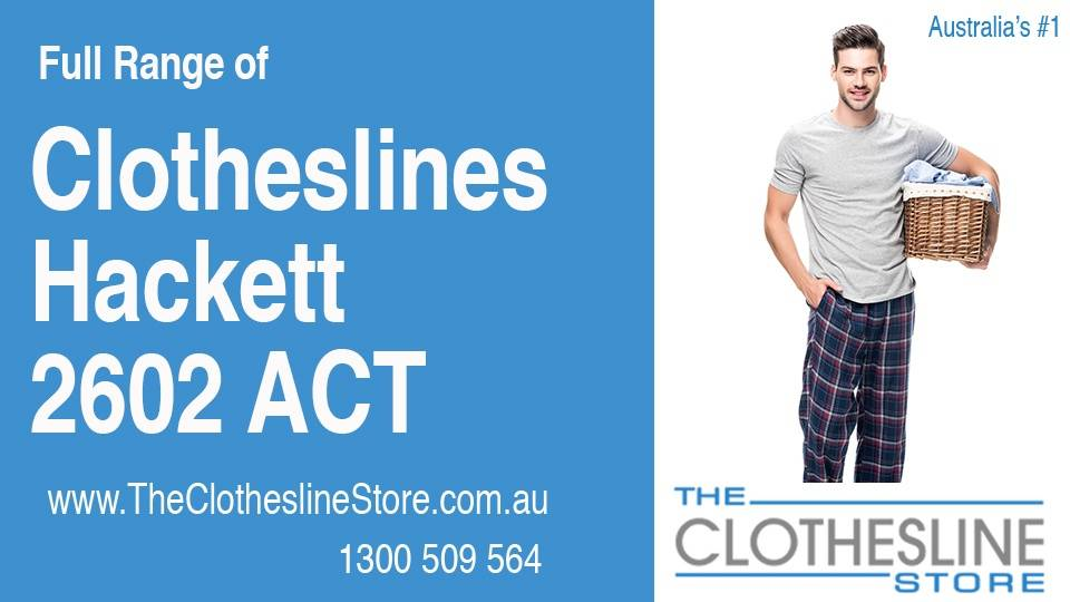 New Clotheslines in Hackett ACT 2602