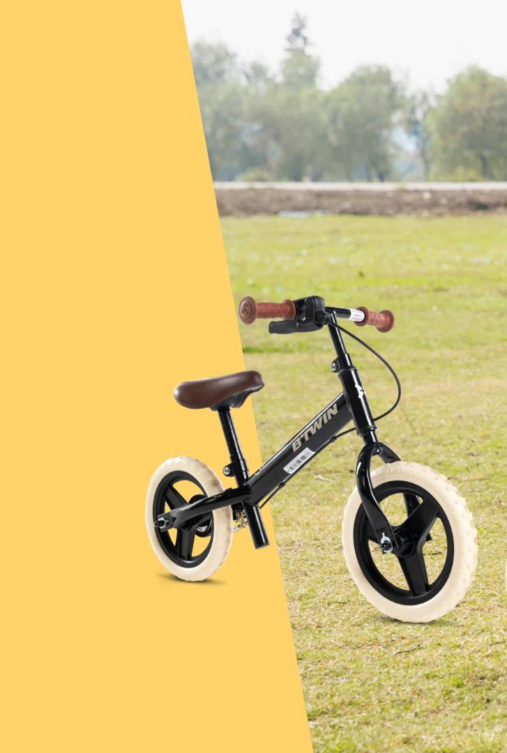 BTWIN (ビトウィン) サイクリング ペダルなしトレーニングバイク 子供用 Run Ride 520 Cruiser 10インチ自転車